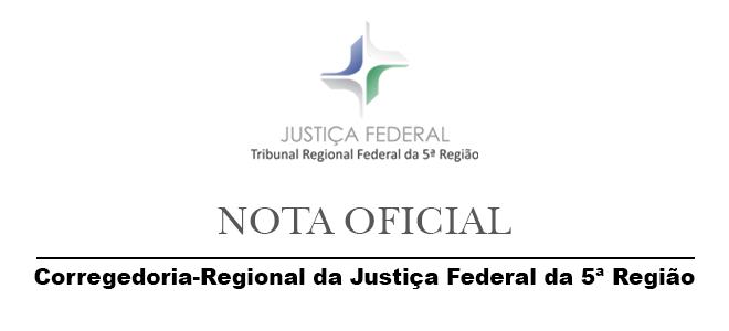 Acesse a notícia completa: Corregedoria do TRF5 emite nota sobre tramitação processual na 19ª Vara Federal de Pernambuco